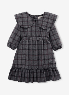 Mosic Check Dress